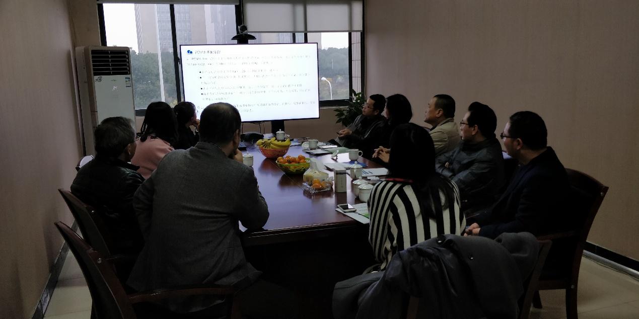 市经济合作局及高新区招商局领导陪同国内知名咨询业界集团公司